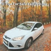 safe fall driving tips