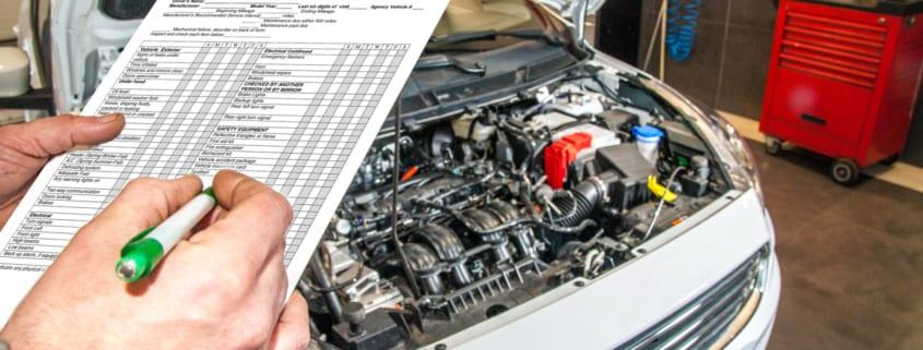 car maintenance checklist