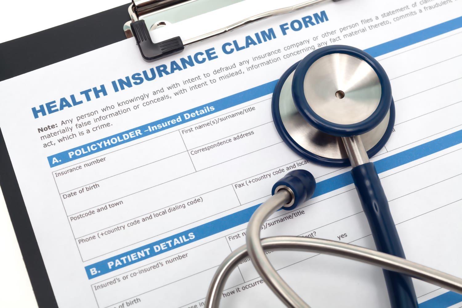 how to prepare a health insurance appeal letter