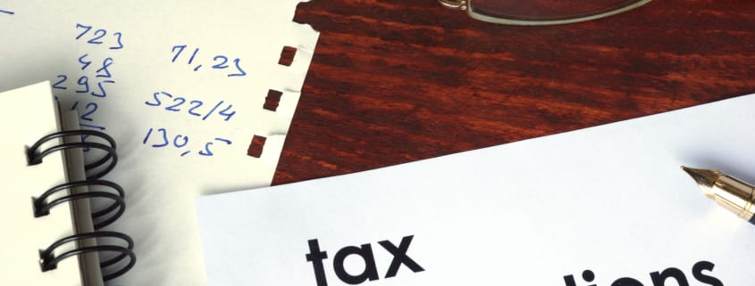 insurance tax deductions form